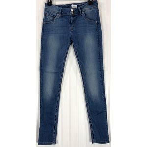 Hudson Jeans Collin Flap Skinny Ankle Jeans 8855